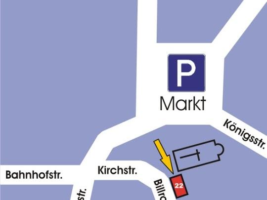 Parkplatz Markt