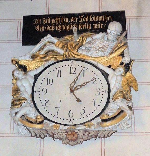 Bild von der Totenuhr