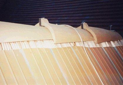 Trockenfirst mit Kupferband