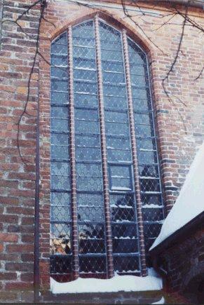 Fenster auf der Nordseite