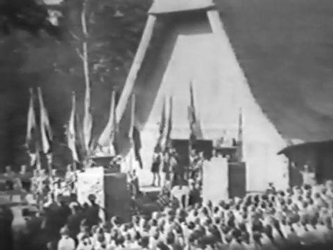 Hans Mallon/HJ-Ehrenmal auf dem Rugard