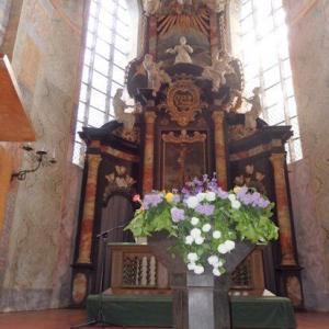 Altar und Chorraum